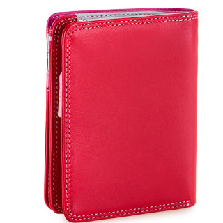 Mywalit Portefeuille Zip Moyen Cuir Nappa Ruby dos