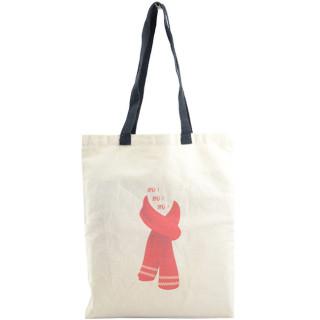 Farfouillette Tote Bag Sac fourre-tout Echarpe Naturel