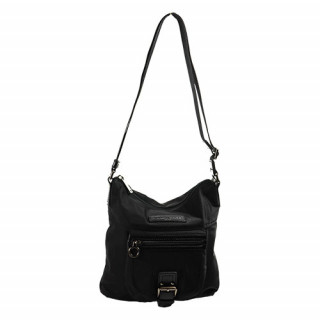 Lancaster Basic Sport Sac Porté Travers 504-94 Noir  face