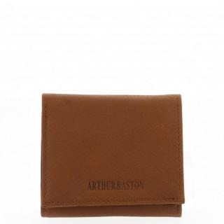 Arthur et Aston Oscar Porte Monnaie Boîte 1978-771 Cognac