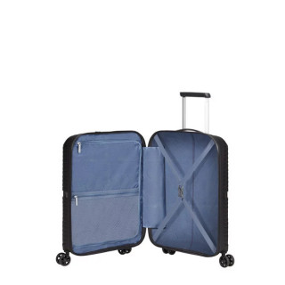 American Tourister Airconic Spinner 55 cm Valise Cabine Trolley 4 Roues Midnight Navy