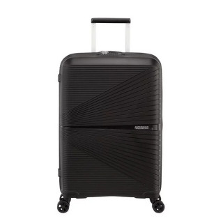 American Tourister Airconic Spinner 67 cm Valise Trolley 4 Roues Onix Black