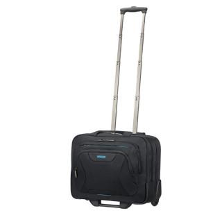 "American Tourister Sacoche PC 15"" Trolley Noir face"