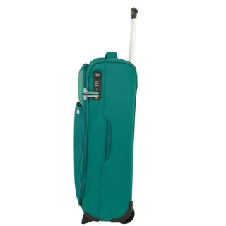 American Tourister Lite Ray 55 cm Valise Cabine Trolley 2 Roues Forest Green profil