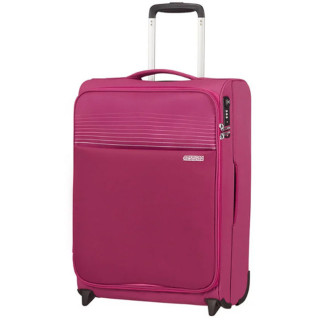 American Tourister Lite Ray 55 cm Valise Cabine Trolley 2 Roues Magent A Haze