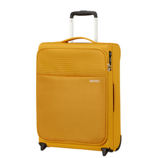 American Tourister Lite Ray 55 cm Valise Cabine Trolley 2 Roues Golden Yellow
