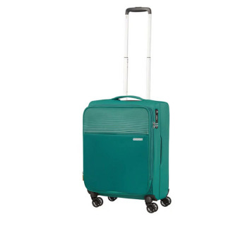 American Tourister Lite Ray 55 cm Valise Cabine Trolley 4 Roues Extensible Forest Green troley