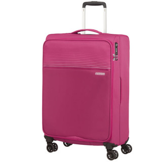 American Tourister Lite Ray 69 cm Valise Trolley 4 Roues Magent A Haze