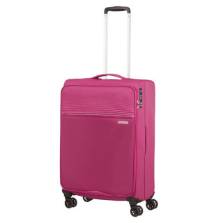 American Tourister Lite Ray 69 cm Valise Trolley 4 Roues Magent A Haze cote