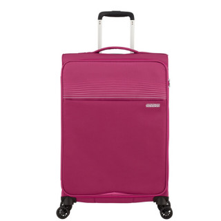 American Tourister Lite Ray 69 cm Valise Trolley 4 Roues Magent A Haze face