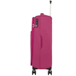 American Tourister Lite Ray 69 cm Valise Trolley 4 Roues Magent A Haze profil