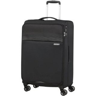American Tourister Lite Ray 69 cm Valise Trolley 4 Roues Jet Black