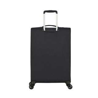 American Tourister Lite Ray 69 cm Valise Trolley 4 Roues Jet Black dos