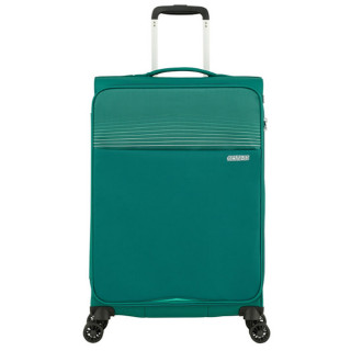 American Tourister Lite Ray 69 cm Valise Trolley 4 Roues Forest Green face