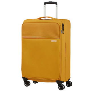 American Tourister Lite Ray 69 cm Valise Trolley 4 Roues Golden Yellow