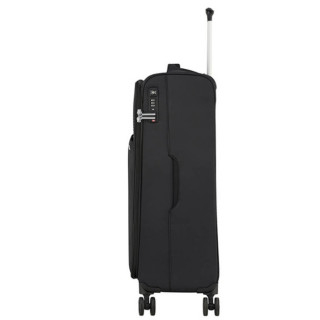 American Tourister Lite Ray 81 cm Valise Trolley 4 Roues Jet Black