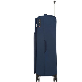 American Tourister Lite Ray 81 cm Valise Trolley 4 Roues Midnight Navy cote