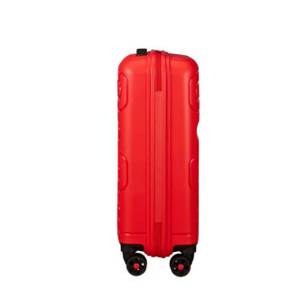American Tourister Sunside Spinner 55 cm Valise Cabine Trolley 4 Roues Sunset Red cote