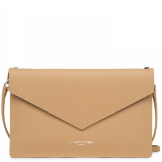 Lancaster City Americanini Double Sac Pochette 222-20 Naturel In Orange face