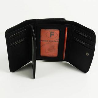 Lancaster Soft Vintage Nova Portefeuille 120-17 Noir