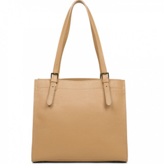 Lancaster Foulonne Double Besace 470-23 Naturel in Beige dos