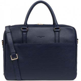 Lancaster Mademoiselle Business Sac porté Main 573-75 Bleu Fonce