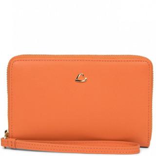 Lancaster City Philos  Portefeuille et Compagnon 123-19 Orange