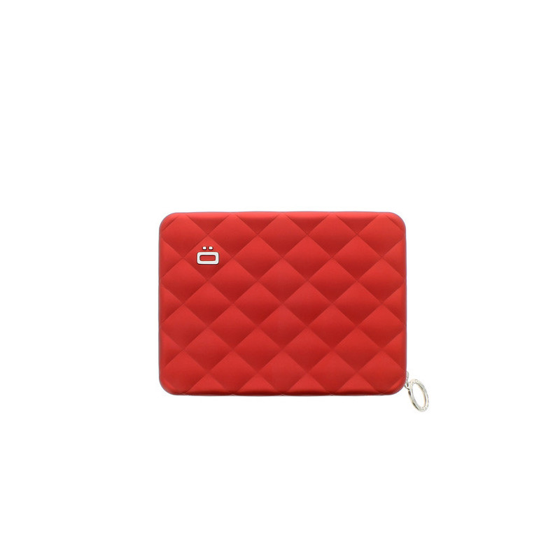 Ogon Quilted Passport Red