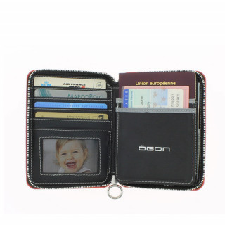 Ogon Quilted Passport Black 4