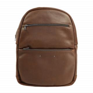 sac à dos homme en cuir couleur cognac