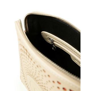 Desigual Deia Mini Sac Bandoulière Spirale Blanc