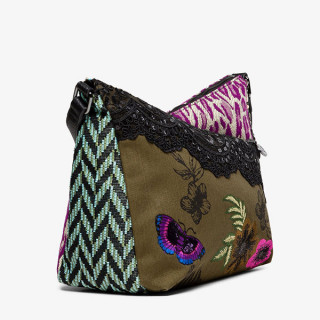Desigual Harry Sac Porté Épaule Patch Negro