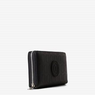 grand portefeuille femme noir