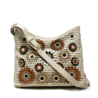 Desigual Allegreto Sac Porté Travers Camel