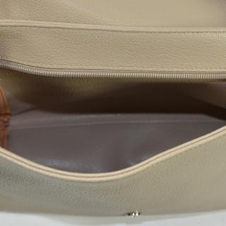 Lancaster Maya Crossbody Bag 517-34 Galet Ivory Mole