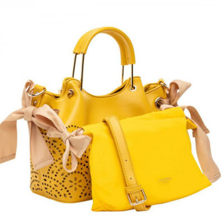 Lollipops F Damma Sac A Main Shopper M et Pochette Jaune