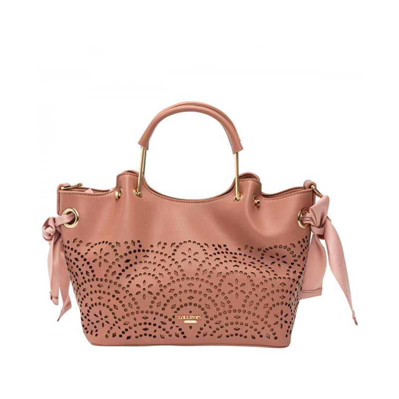 Lollipops F Damma Sac A Main Shopper M et Pochette Rose