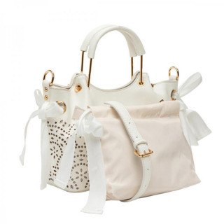Lollipops F Damma Sac A Main Shopper M et Pochette Blanc