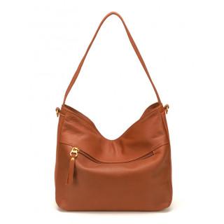 sac en cuir pour femme cognac