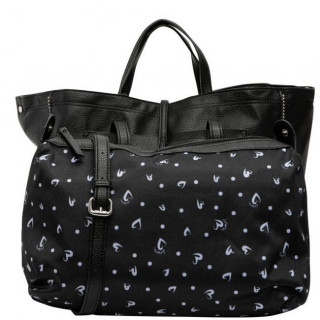Lollipops Fern Sac Cabas et Pochette Black