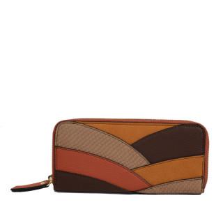 Portefeuille femme Farfouillette marron