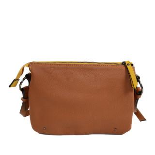 sac femme porté travers marron