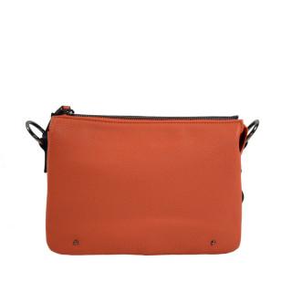 sac porté travers femme orange