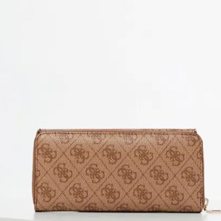 Guess Candace Compagnon Dos A Dos Large Brown Multi
