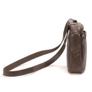 grand sac pochette homme en cuir