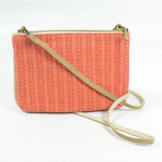 Mila Louise Natasha Paille3 Sac et Pochette Orange