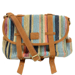 Mila Louise Ness Paille3 Sac Porté Travers Multi