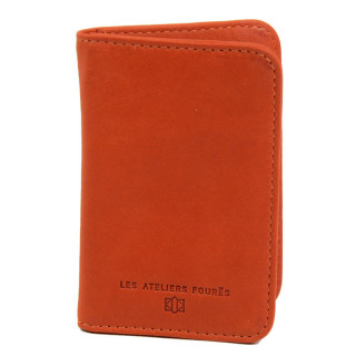 Jean Louise Fourès Baroudeuse Porte-cartes Orange