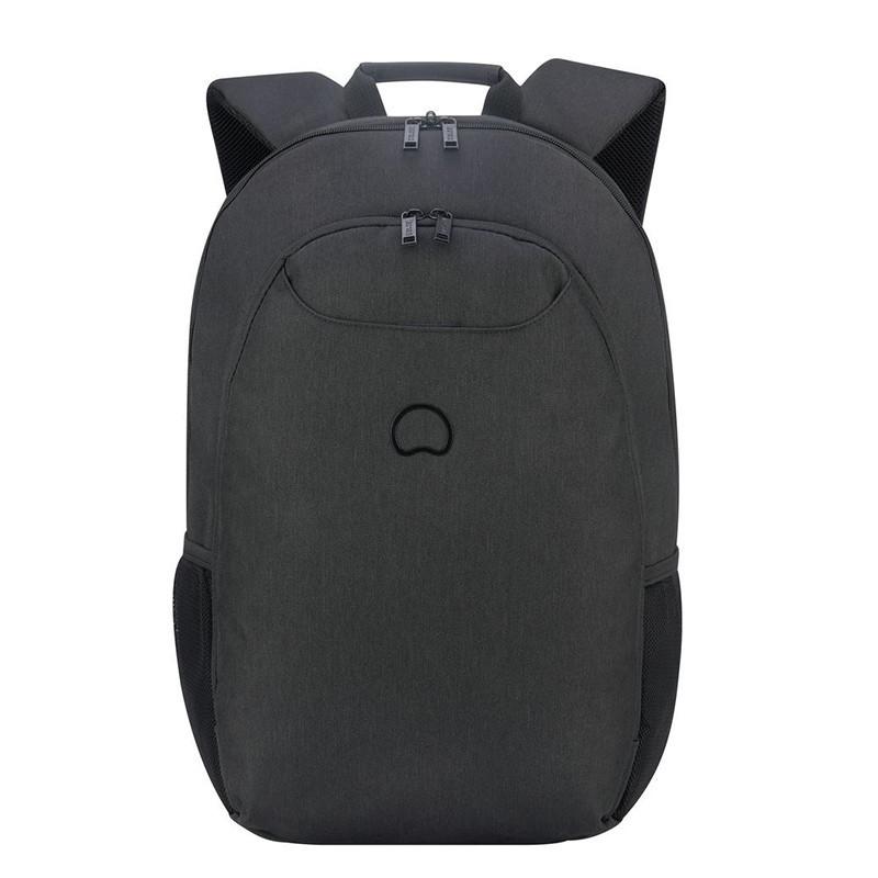 sac à dos ordinateur noir Delsey