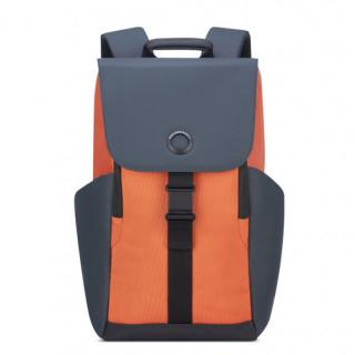 """Delsey Secureflap Sac à Dos PC 15.6"""" orange"""